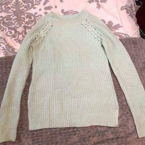 Mint green Junior's sweater